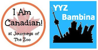I Am Canadian and YYZ Bambina Logo