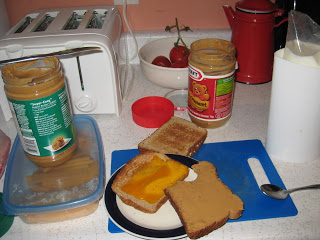 peanut butter and jam dinner
