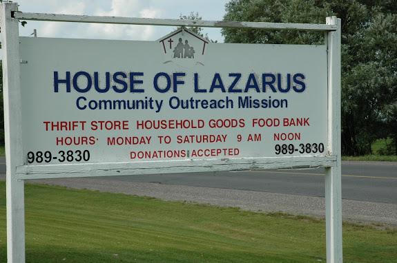 House of Lazarus Foodbank