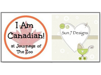 I Am Canadian Feature for September Sun 7 Designs