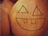 halloween activities carving pumpkin