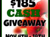 November Cash Giveaway