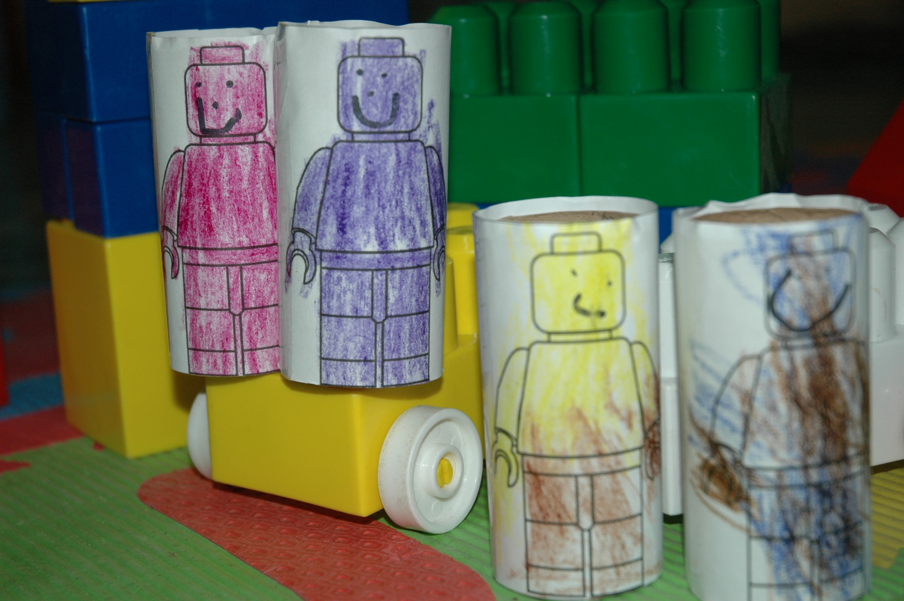 LEGO Movie Crafts for Kids Playing