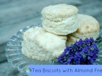 Almond Fresh Tea Biscuits
