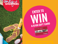 Shoppers Drug Mart Giveaway Logo