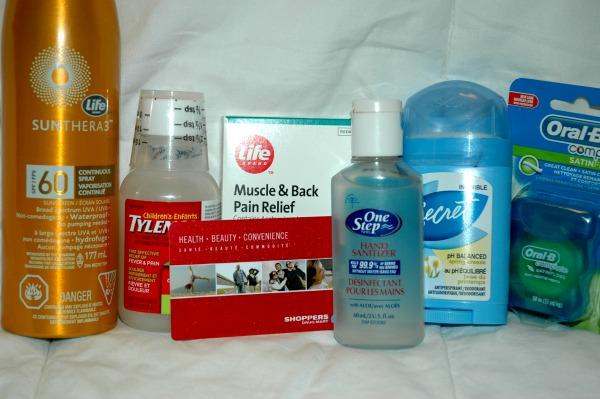Shoppers Drug Mart Summer Supplies