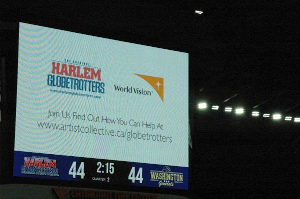 Harlem Globetrotters Show Canadian Tire Centre Ottawa