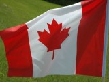 Stock-Canada Flag Blowing1