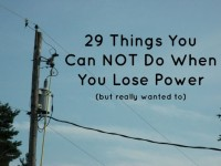 lose power list3