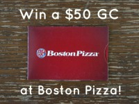Boston Pizza-Summer Menu-Indy Pizza-Giveaway